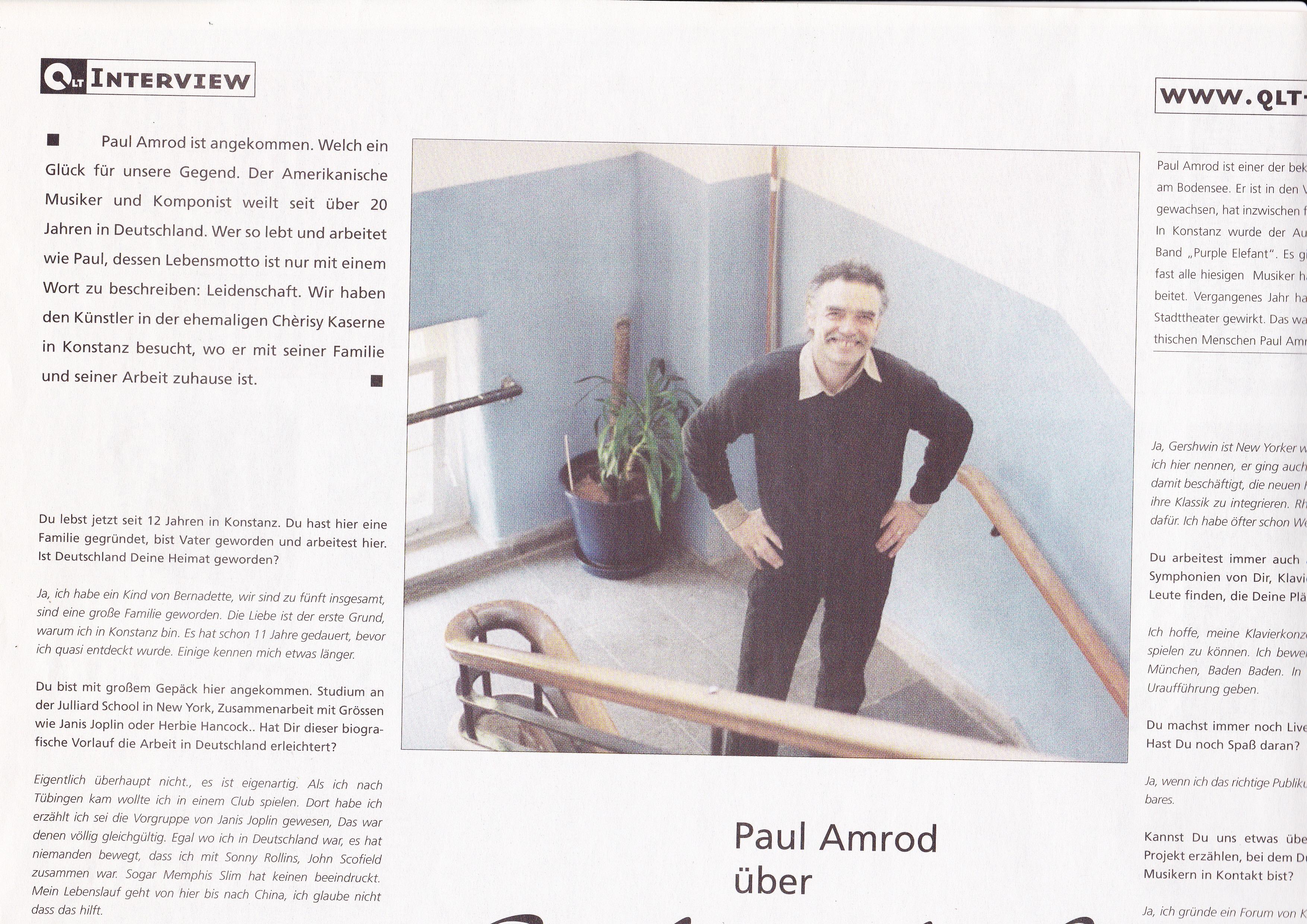 Press | Paul Amrod